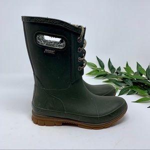Bogs Shoes - Bogs Amanda Plush Insulated Pull On Rain Boot 6